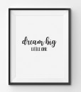 Dream Big - Text 1